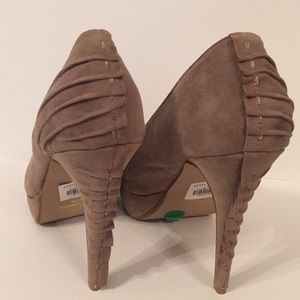 Qupid Shoes - Qupid Suede Heels